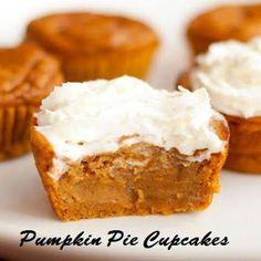 Cooking Chef | Delicious Recipes: Pumpkin Pie Cupcakes!