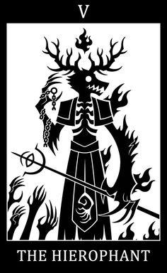 05 - The Hierophant - Laurence the First Vicar by SunnyClockwork.deviantart.com on @DeviantArt