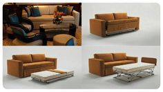 Frank's simple design and elegant proportions make it a perfect sofa bed for contemporary and minimalist inspired interiors. Choose from three types of armrest according to preference and requirements. Frank converts easily into a single bed by pulling the seat forward without removing the cushions. Frank is also available to order as a double bed with twin interior sprung orthopedic mattresses (80x190/193x14 cm).