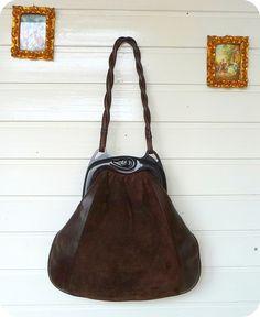 VINTAGE KIEFRO 100% Leder Beutel Tasche Handtasche Bag Shopper Schultertasche in Kleidung & Accessoires, Damentaschen | eBay