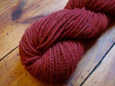 Etsy Finds - naturalmente tinti mano filato di lana tinti di ColorscapeStudio