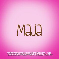 Maja (Voor meer inspiratie, en unieke geboortekaartjes kijk op www.heyboyheygirl.nl)