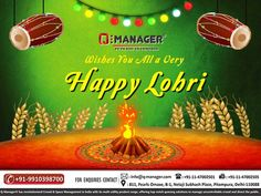 Q-Manager Wishes You All a Very Happy #Lohri. http://www.q-manager.com/ #Qmanager #HappyLohri