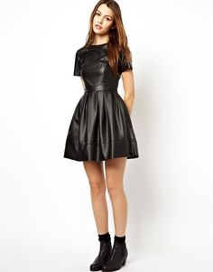 http://us.asos.com/asos/asos-skater-dress-in-leather-look/prd/2966823?iid=2966823