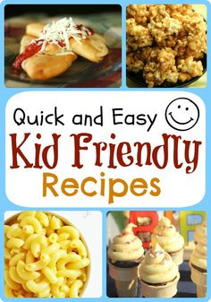 This list is some of our favorite kid friendly recipes. Here at Favorite Family Recipes we have tons of great food for the entire family to enjoy! Recipes include Homemade Mac and Cheese, Ice Cream Cone Cupcakes, Quick and Easy Calzones, and more!