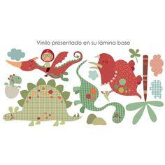 Vinilo infantil Dinosaurios Buenos