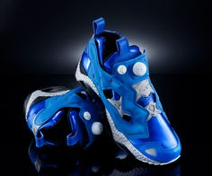 Limited Edition Reebok Insta Pump Fury Ghost In The Shell Sneakers. Only 500 made. DAMN!