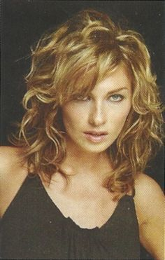 Wavy Hairstyles With Bangs For Medium Google Search
