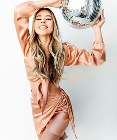The Bardot Skirt - Rose Gold
