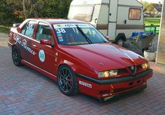 Alfa Romeo 155 #squadracorse