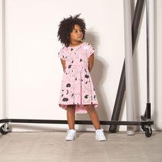 Milk & Masuki Believe Elastic Waist Dress