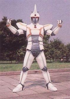 White blaster Beetleborg