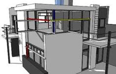 Line Color Form : Line color form contrast geometric shape for the architectural