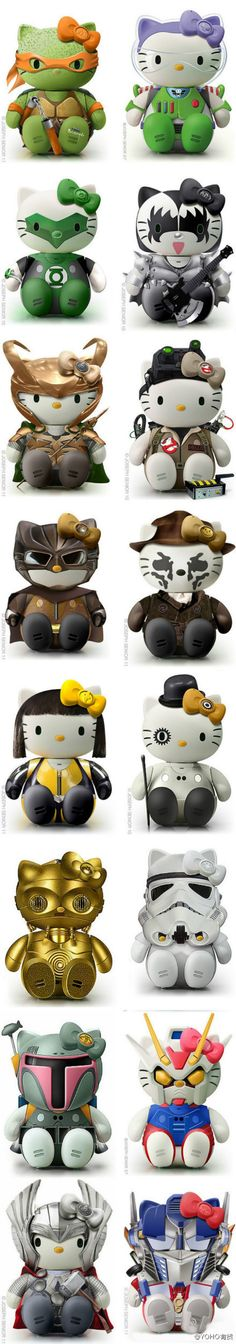Hello Kitty Cosplay - I am going to find the Thor one and buy it!!!!