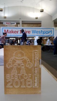 Stepcraft WINS Maker Faire Westport's Best of Show 2018! Way to go! #STEPCRAFT #CNC #stepcraftcnc #thinkitmakeit #makersgonnamake #crafters #woodworking info@stepcraft.us • 203-556-1856
