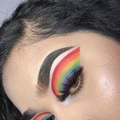 IT-künstlerisches Make-up . Sfx Makeup, Makeup Art, Beauty Makeup, Makeup Goals, Makeup Inspo, Makeup Ideas, Make Up Inspiration, Rainbow Makeup, Creative Makeup Looks