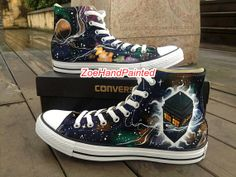 f9ec4946c7f4 Doctor Who Converse Doctor Who Shoes DW Doctor Who Galaxy Shoes Nebula High  Top Hand Painted Shoes Custom Converse Shoes Canvas Shoes