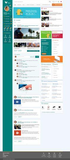 Portal de Colaboração - Vale on Behance