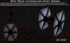 SFS TIE/Sf (First Order) Ortho [New] by unusualsuspex