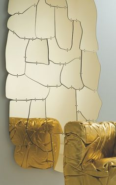 Miraggio, mirror by Campana brothers for Edra