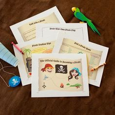 The Official Guide to Becoming a Pirate with free printable for talk like a pirate day/pirate week at school