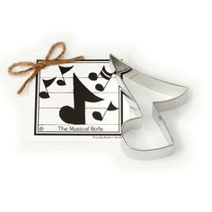 Musical Note Cookie and Fondant Cutter - Ann Clark - 4.9 Inches - US Tin Plated Steel -- Hurry! Check out this great sales : Baking Accessories
