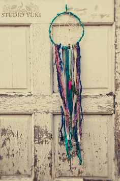 Bohemian Gypsy Dreamcatcher, Handmade, Boho, Ethnic Home Decor, Wall Hanging, One of a Kind, Feathers, Colorful Wall Art, Native Gift