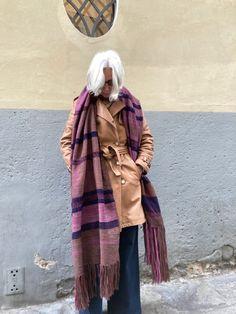 Plaid Scarf, Coat, Jackets, Fashion, Down Jackets, Moda, Sewing Coat, Fashion Styles, Peacoats