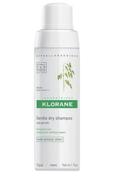 The Klorane gentle dry shampoo. The small edition is perfect for the bag