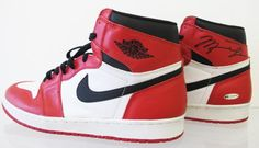 Image: $15,000 Autographed OG Air Jordan 1