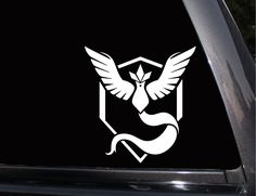 Pokemon, Team Mystic Vinyl Decal, Phone Decal,Laptop Decal, Wall Decal,Car Decal