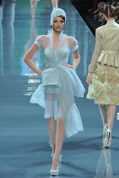 seaborder: John Galliano for Christian Dior Fall Winter 2008 Haute Couture