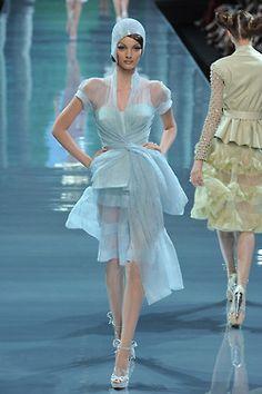 seaborder: John Galliano for Christian Dior Fall Winter 2008 Haute Couture