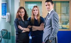 Connie, Jac & Sam Holby.tv (@holbytv)   Twitter Casualty Cast, Summer Heights High, 8 Out Of 10 Cats, Hospital Tv Shows, Private School Girl, Holby City, Broadchurch, Casting Pics, Medical Drama