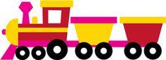 Silhouette Online Store - View Design #8073: train