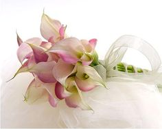 A Small Bouquet of Calla Lilies