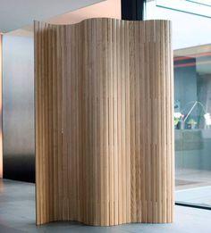 Paravent contemporain / en bois 39 by Frédéric Dedelley Wogg