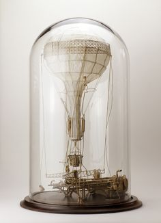 Sets for a Film Ill Never Make: The Unbelievably Intricate Cardboard Sculptures of Daniel Agdag sculpture paper cardboard Cardboard Sculpture, Cardboard Art, Sculpture Art, Paper Sculptures, Steampunk Kunst, Steampunk Diy, Air Balloon, Balloons, Cristal Art