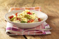 Ein Hauch von Orient aus der Mikrowelle: Vegetarischer Bulgursalat mit Paprika. #experiencefresh