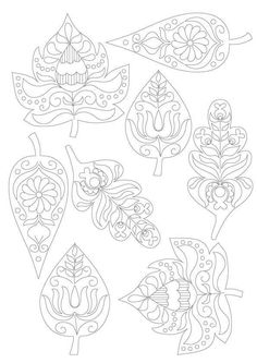 Ősz White Things white collar jobs near me Pattern Coloring Pages, Coloring Book Pages, Autumn Crafts, Autumn Art, Embroidery Patterns, Hand Embroidery, Fall Art Projects, Autumn Activities For Kids, Hungarian Embroidery
