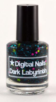 Dark Labyrinth : a Digital Nails nail lacquer