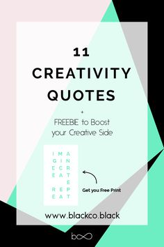 Sometimes, all you need to boost your creativity is an inspiring quote. Read my last post and Get your Free Inspiring Creativity Quote! Choose color and format, printable or wallpaper.