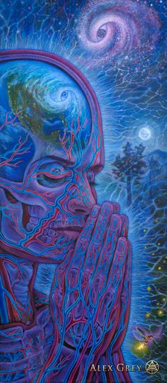 Planetary Prayers - Alex Grey - www.alexgrey.com