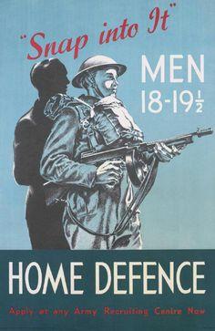 WWII vintage poster