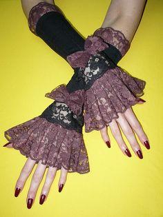 gothic gloves