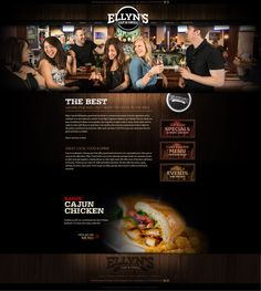 An Inviting and Refreshing Web Design by VisionFriendly.com Illinois, Chicken Menu, Web Design, Good Things, Website, Design Web, Website Designs, Site Design