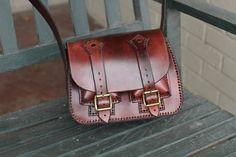 Brown Leather Purse от RCSmithLeatherworks на Etsy