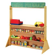 Childcraft Double Sided Combination Play Store and Puppet Theatre Easel