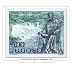 Yugoslavia Tesla stamp