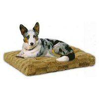 "Quiet Time Deluze Mosaic Pattern Dog Mat Size: Large (35"" L x 23"" W), Color: Cappuccino"